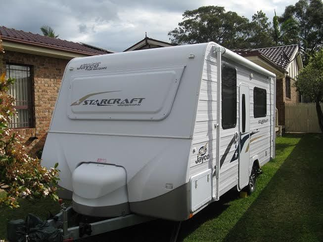 2013 Jayco Starcraft Caravan for sale NSW Budgewoi