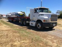 Ford Aeromax Truck for sale Vic 7 Freighter Triaxle Trailer
