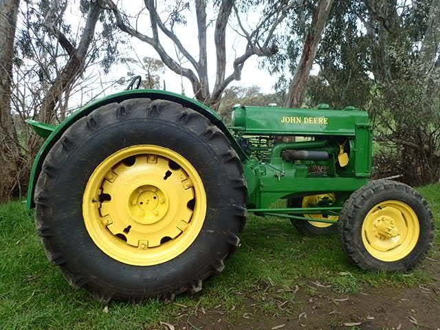 Vintage John Deere BR 1947 Tractor for sale Vic