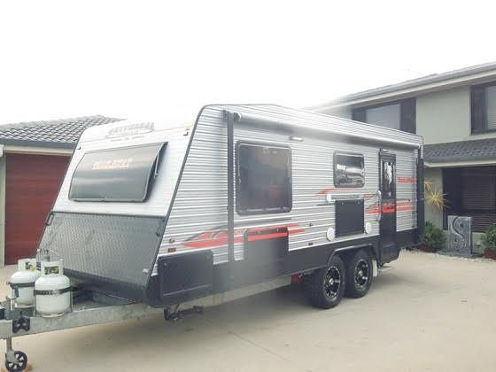 2014 Universal Trail Away Caravan for sale NSW Ballina