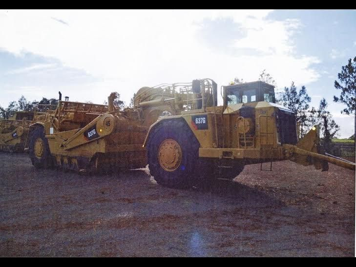 Caterpillar 637G Scrapers x 2 Earth-moving Equipment for sale NSW