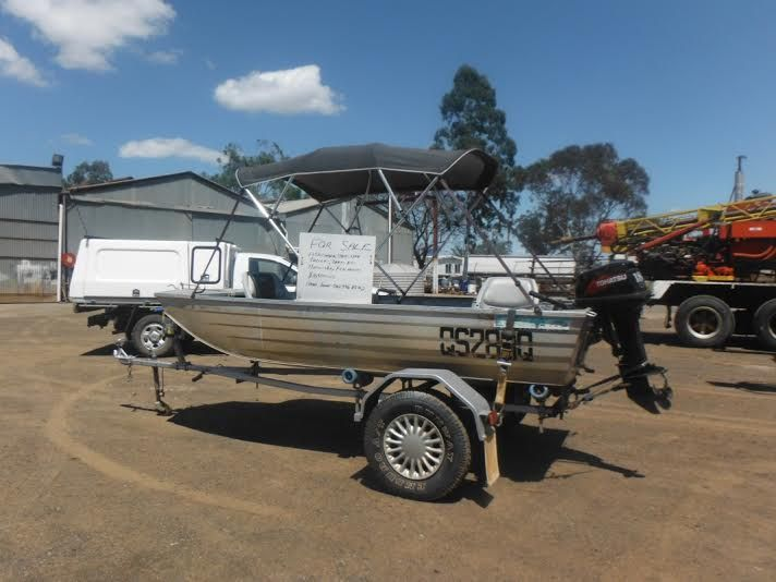 Sea Hunter 3.8m Tinnie Boat and Marine for sale QLD
