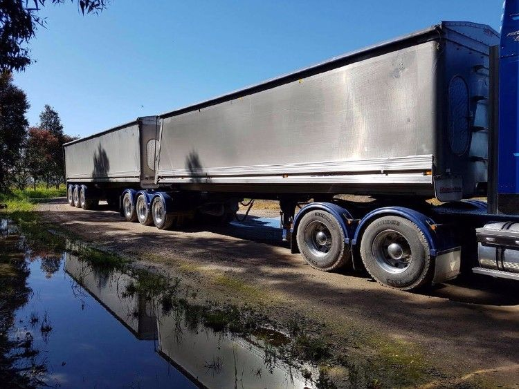 Tipper Trailersw for sale ViHamelex B-Double Tipper Trailers Vic Yarrawonga