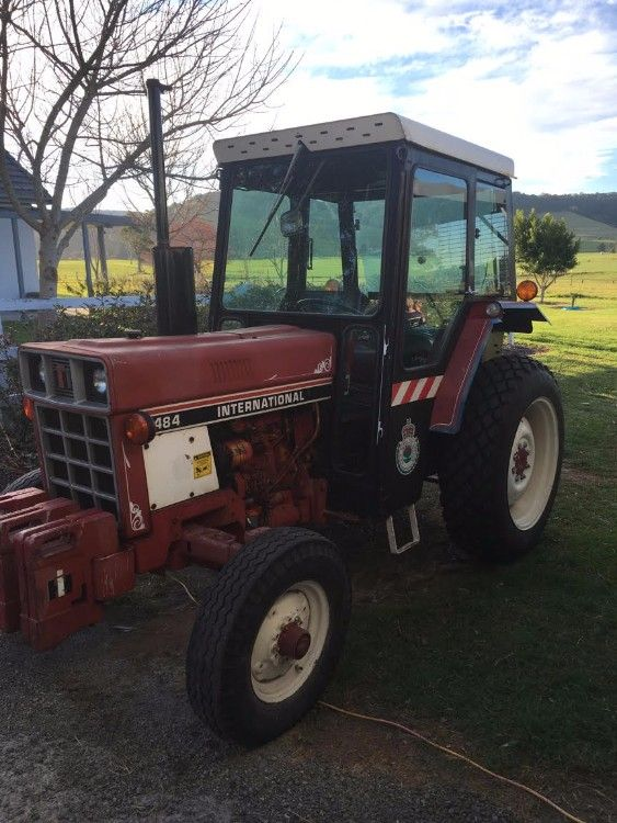 1980 International 484 Cab Tractor for sale NSW