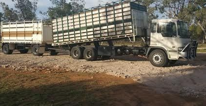 Hino 1997 Truck - Tipper - Dog Trailer Combination for sale QLD