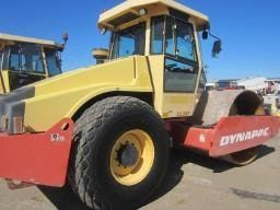 2002 CA302D Dynapac Smooth Drum Roller 12 Ton Earthmoving Equipment QLD