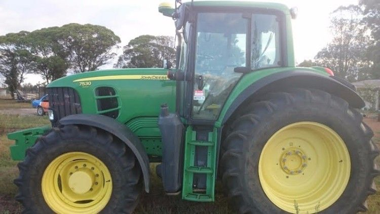 John Deere 7530 Tractor for sale WA
