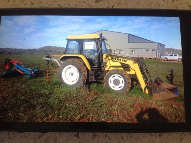 2007 Merlin Tractor for sale NSW