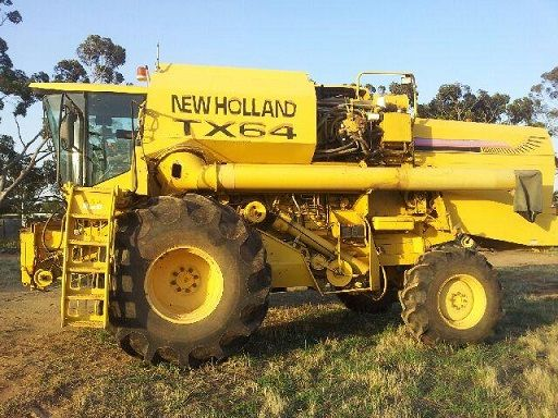 New Holland TX64 Rice Header Farm Machinery for sale NSW Deniliquin