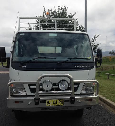 2009 Mitsubishi Fuso Canter FG84D (4x4) Truck for sale NSW