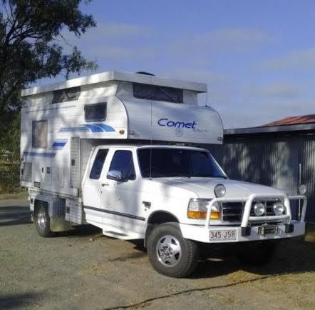 F250 Dual Cab with Comet Camper for sale QLD