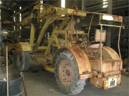 International A41-2 tractor Crane for sale NSW Metford